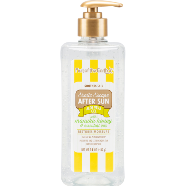 Exotic Escape After Sun Aloe Vera Gel with Manuka Honey and Essential Oils