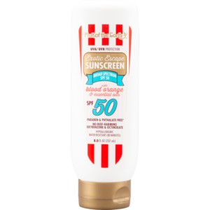 Exotic Escape Sunscreen with Blood Orange and Essential Oils SPF 50 Lotion