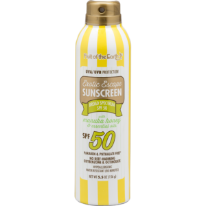 Sunscreen with Manuka Honey and Essential Oils SPF 50 Spray
