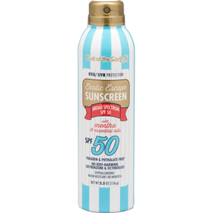 Sunscreen with Mentha and Essential Oils SPF 50 Spray