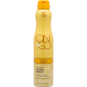 On The Go Lotion Spray Vitamin E Moisturizer